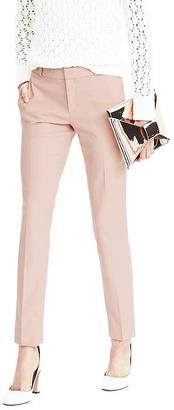 Ryan-Fit Luxe Brushed Twill Pink Herringbone Pant $98 thestylecure.com