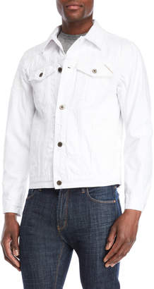 Cult of Individuality White Heritage Distressed Jacket