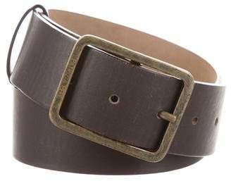 Patrizia Pepe Leather Buckle Belt