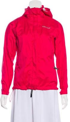 Marmot Hooded Windbreaker Jacket