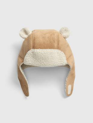 Gap Baby Faux-Suede Trapper Hat