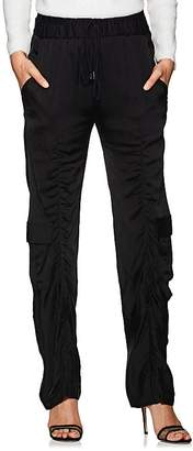 MANNING CARTELL Women's Off Duty Ruched Tech-Satin Pants