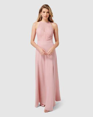Nina Lace Top Soft Petite Maxi Dress