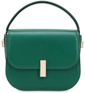 45d3f72933 Valextra Mini Iside Brushed Leather Crossbody Bag