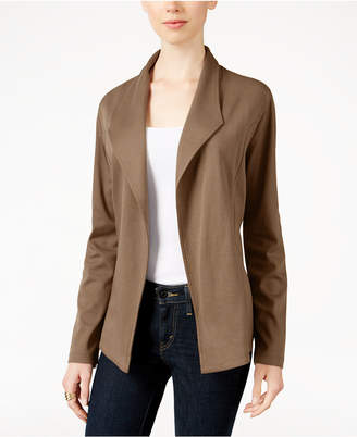 Style&Co. Style & Co Knit Blazer, Created for Macy's