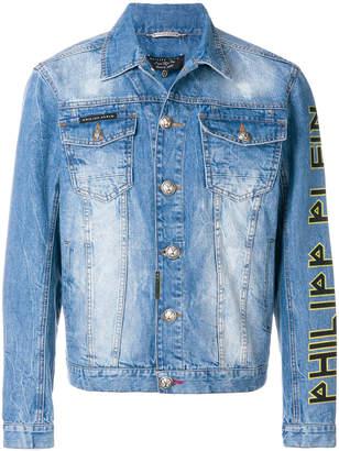 Philipp Plein Ironic denim jacket