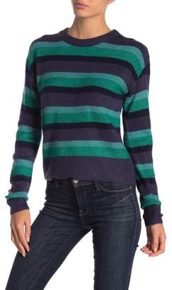 CODEXMODE Striped Pullover Sweater
