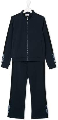 Moncler Teen zip-up tracksuit