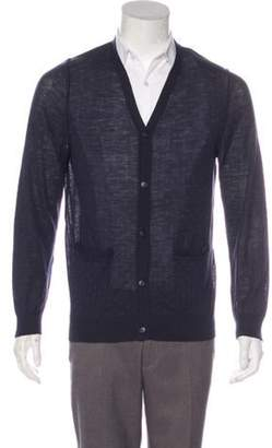 3.1 Phillip Lim Polka-Dot Button-Up Cardigan Polka-Dot Button-Up Cardigan