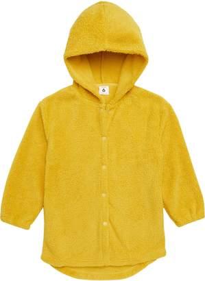 Stem Teddy Logo Faux Fur Jacket