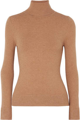 JoosTricot - Stretch Cotton-blend Turtleneck Sweater - Camel