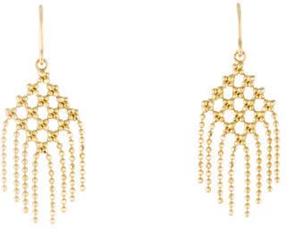 Tiffany & Co. 18K Fringe Bead Drop Earrings $895 thestylecure.com