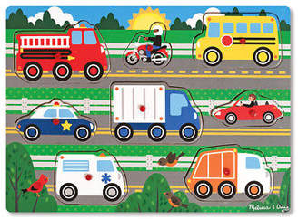Melissa & Doug NEW Vehicles Peg Puzzle