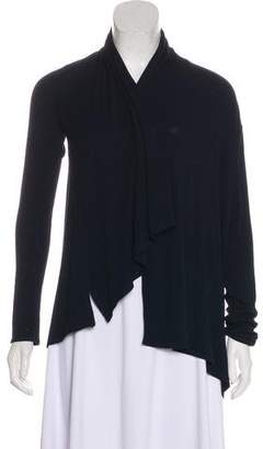 Calypso Knit Asymmetrical Cardigan