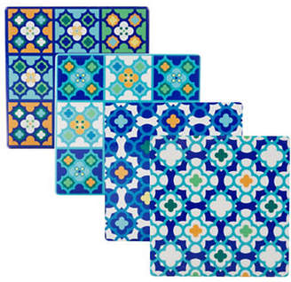 Maxwell & Williams Barcelona Four-Piece Porcelain Coasters Set