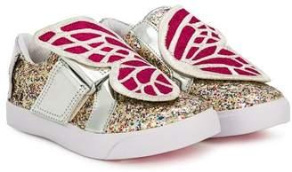 Sophia Webster Mini Bibbi glitter sneakers