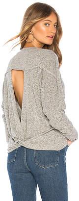 LAmade Intermingle Twist Back Sweater