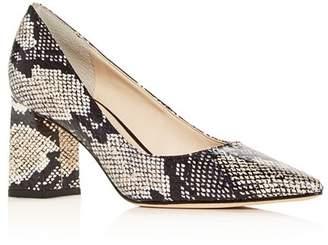 Marc Fisher Women's Zalas Pointed-Toe Block-Heel Pumps