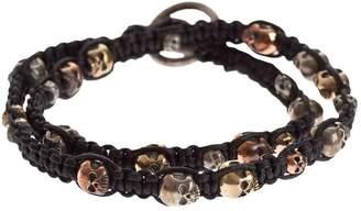 Tobias Wistisen woven skull bracelet