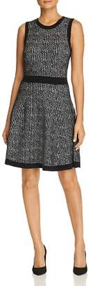 Kate Spade Sleeveless Plaid Sweater Dress