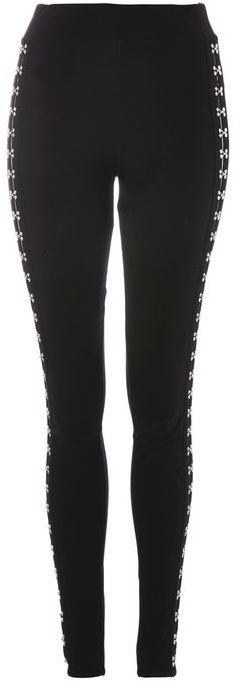 Topshop Topshop Hook and eye leggings