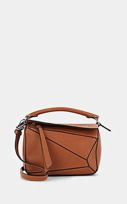 Loewe Women's Puzzle Mini Leather Shoulder Bag - Tan