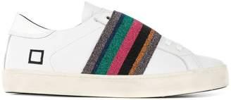 D.A.T.E strap detail sneakers