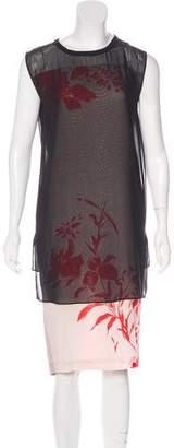 AllSaints Silk Midi Dress