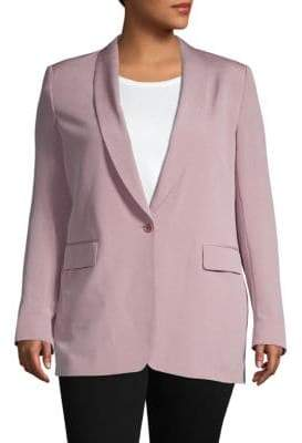 Dries Van Noten Classic One-Button Blazer