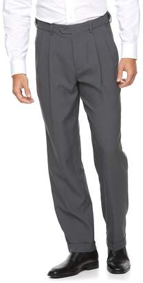 Croft & Barrow Men's Classic-Fit Easy-Care Pleated Dress Pants