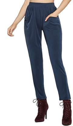 BCBGeneration Women's Sueded Ribbed Harem Pants
