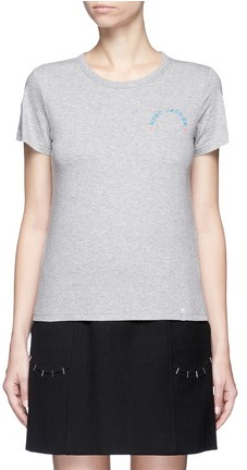 Marc Jacobs Marc Jacobs Logo embroidered classic T-shirt