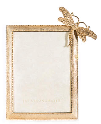 """Jay Strongwater Tori Dragonfly Picture Frame, 5"""" x 7"""""""