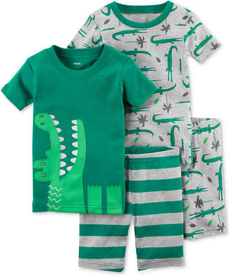 Carter's 4-Pc. Cotton Pajamas Set, Baby Boys