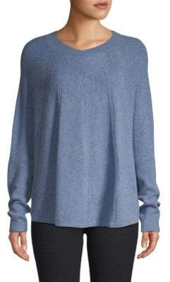 Qi Dolman-Sleeve Cashmere Sweater