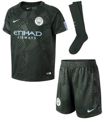 Nike 2017/18 Manchester City FC Stadium Third Younger Kids'Football Kit