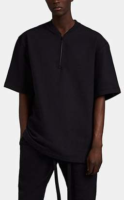 Fear Of God Men's Cotton French Terry Henley T-Shirt - Black
