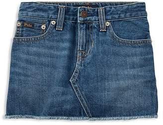 Ralph Lauren Girls' Denim Skirt - Little Kid