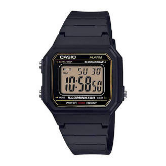 Casio TABLE Table Mens Black Strap Watch-W217h-9avpb