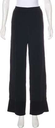 Helmut Lang Wide-Leg High-Rise Pants w/ Tags