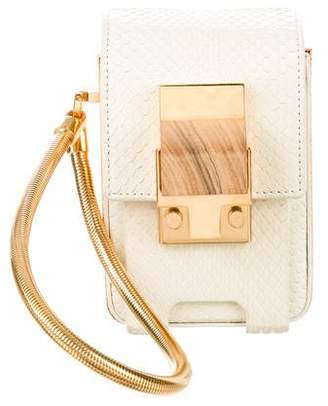 Lanvin Snakeskin Mini Bag