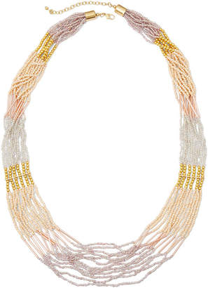 Decree Seed Bead Necklace