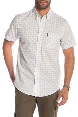 Ben Sherman Modern Geo Print Short Sleeve Shirt