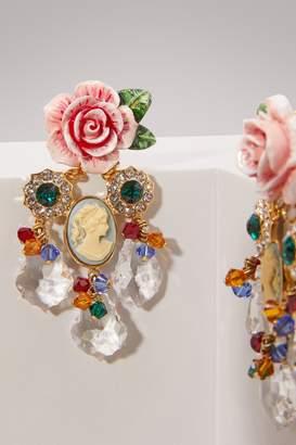Dolce & Gabbana Roses earrings