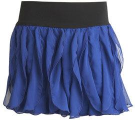 Tiered Chiffon Mini Skirt