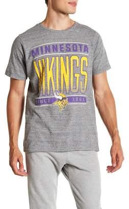 Junk Food Clothing Minnesota Vikings Touchdown Tee