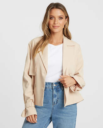 Elliot Cropped Trench