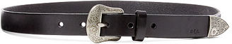 Ralph Lauren Western Engraved Leather Belt $48 thestylecure.com