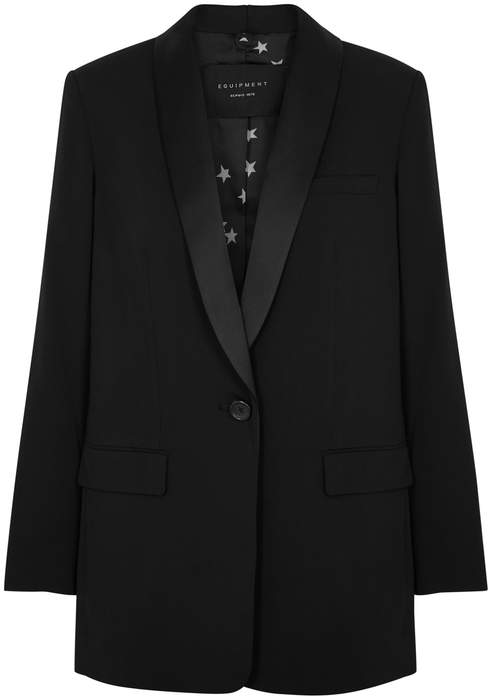 Quincy Black Tuxedo Jacket