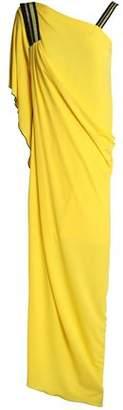 Vionnet Asymmetric Draped Jersey Maxi Dress